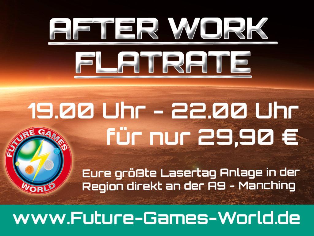 After Work Lasertag Flatrate - jeden Mittwoch