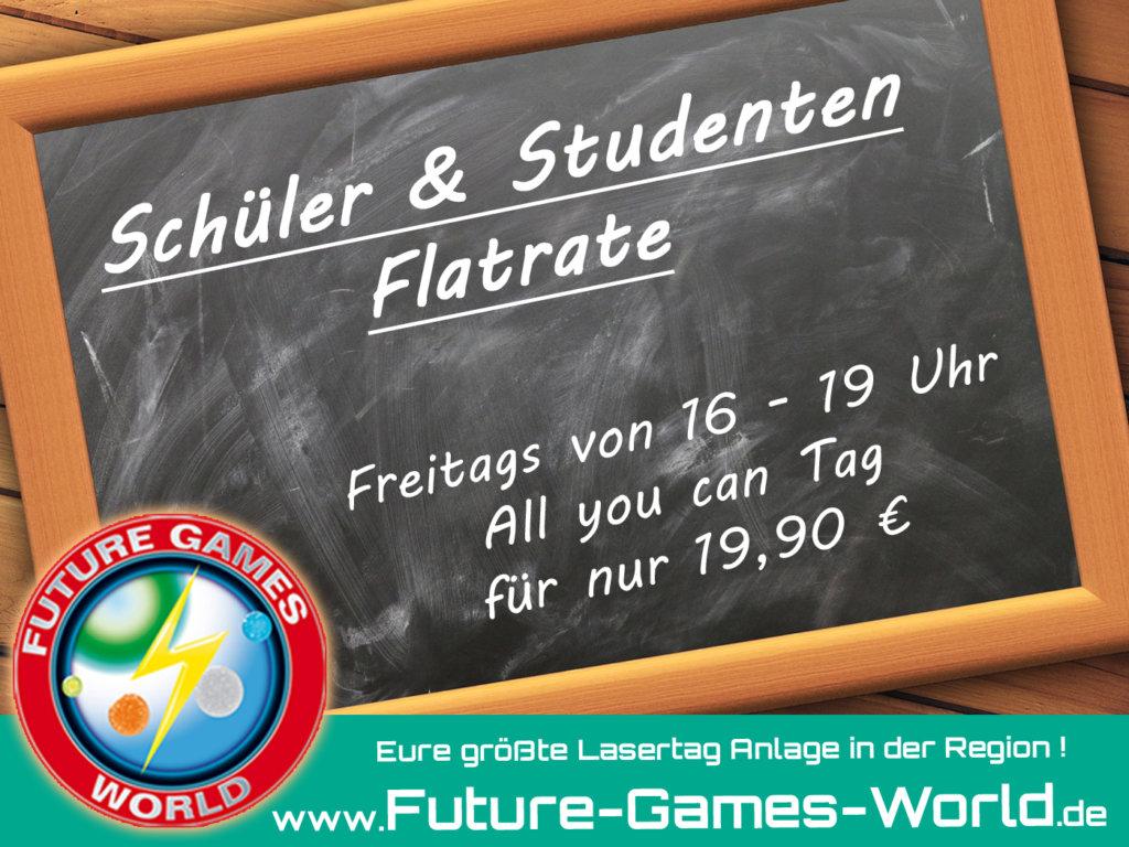 Freitags - Schüler Lasertag Flatrate